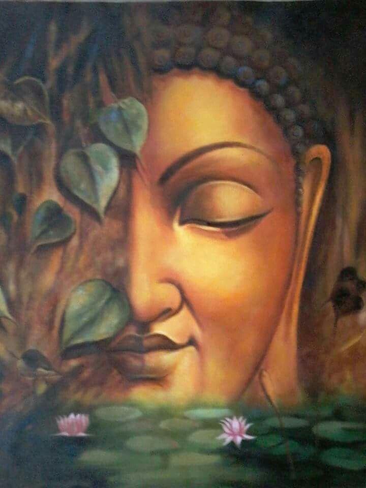 Pin By Leonor Cantu On Hd Wallpaper Budha Painting Buddha Painting Buddha Art Painting Buddha painting hd wallpaper
