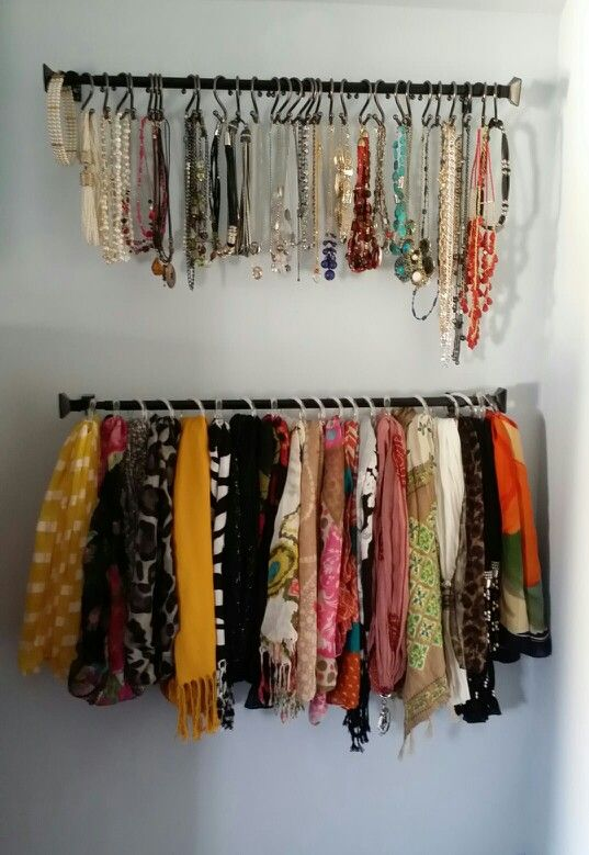 Organize Your Clothes 10 Creative And Effective Ways To Store And Hang Your Clothes: Storage And Wall Decor. #walldecor Totally Doing This