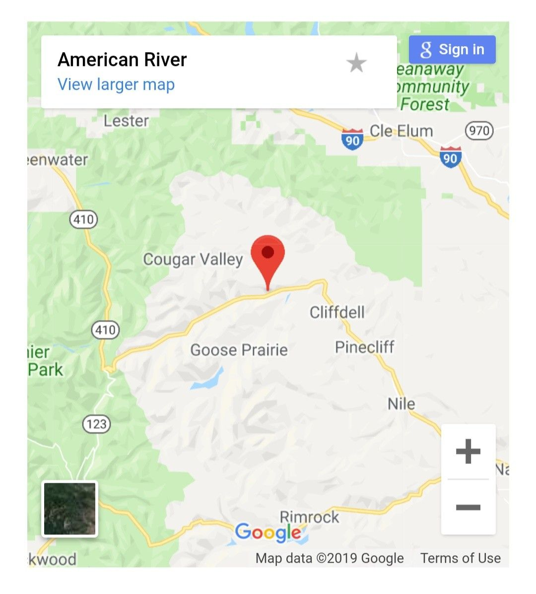 Maps of American River the city of Washington USA. Get the mapquest Directions Maps Mapquest on