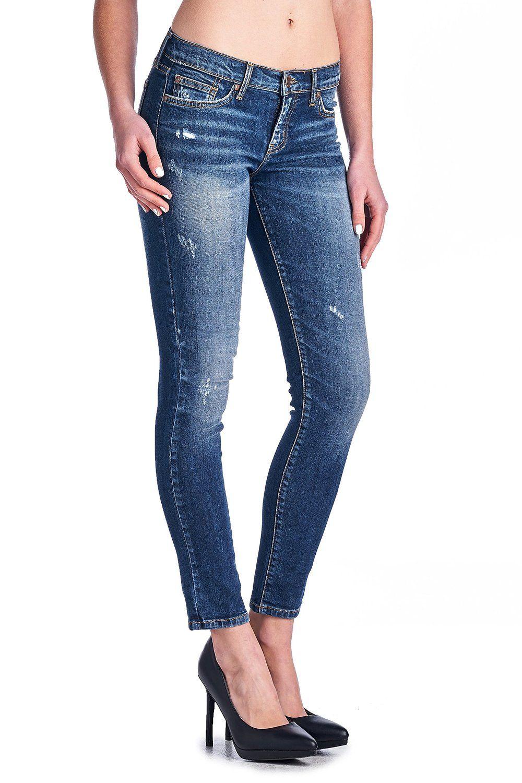 Angry Rabbit Womens Premium Deisgners Denim Vintage Wash Ankle Skinny Jeans #vintage #angryrabbit #premiumdenim #vintagewash #denimdenim