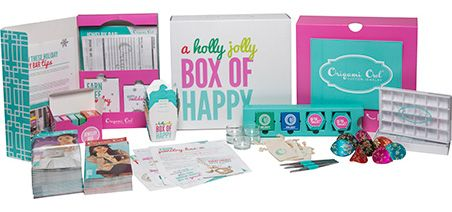 Origami Owl Holly Jolly Box of Happy Package
