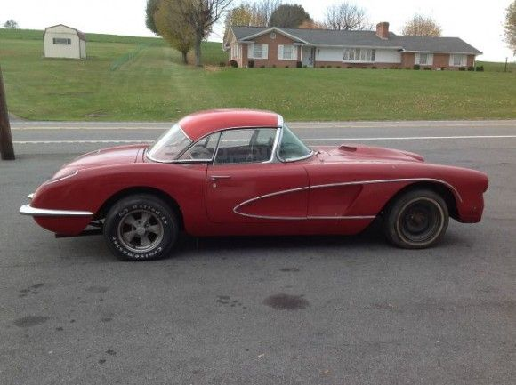 1959 Corvette Project Project Cars For Sale Project Cars For