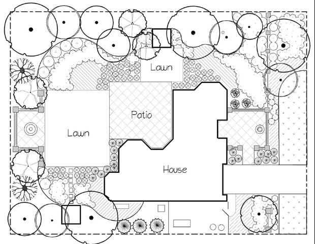 Basic Principles Of Landscape Design Figure 14 Repetition Of Square Form Landscape Design Drawings Architecture Design Sketch Landscape Plans