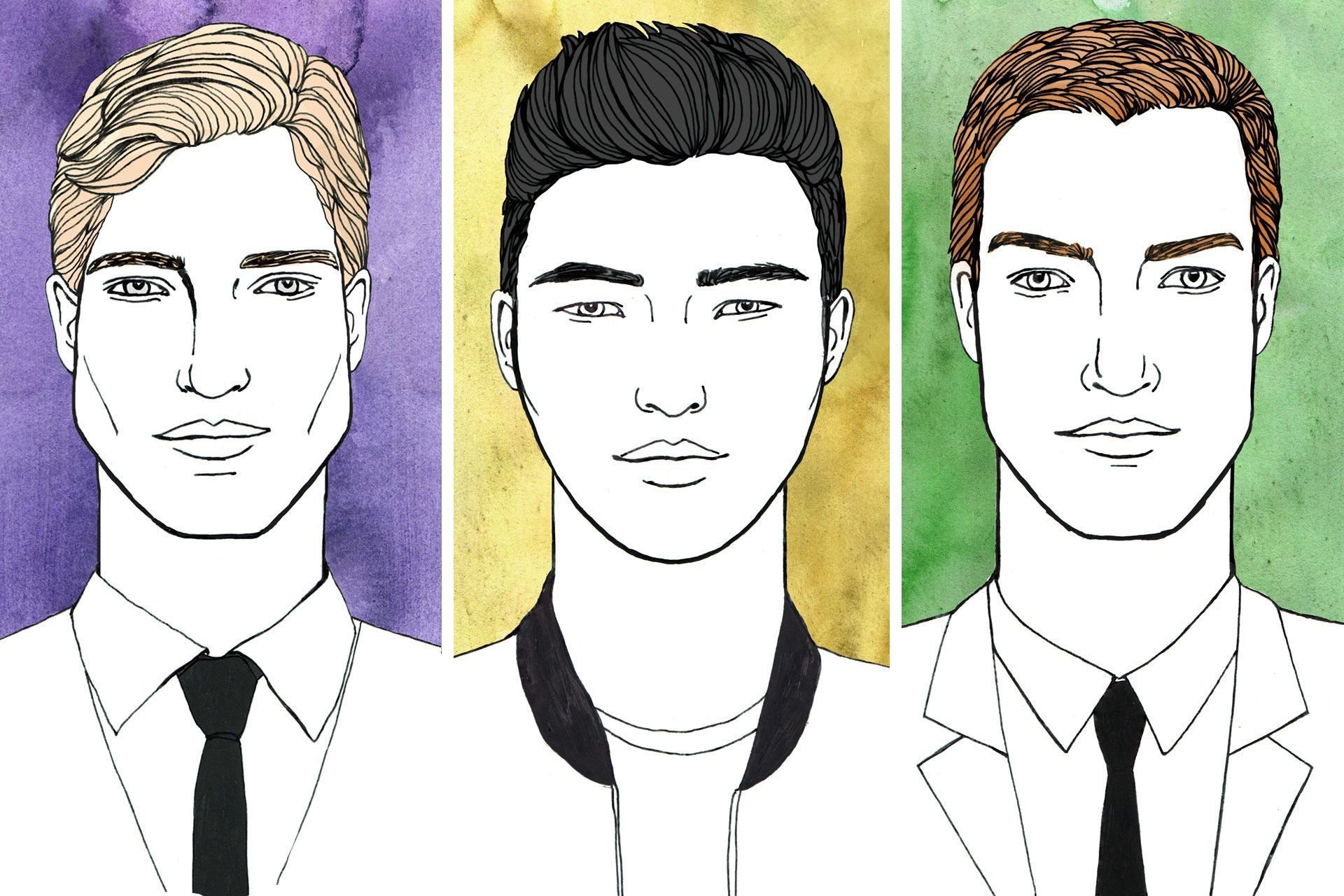 We Break Down The Best Men S Hairstyles To Suit Every Kind Of Face Shape No Matter Wh Oblong Face Hairstyles Face Shape Hairstyles Oblong Face Hairstyles Male