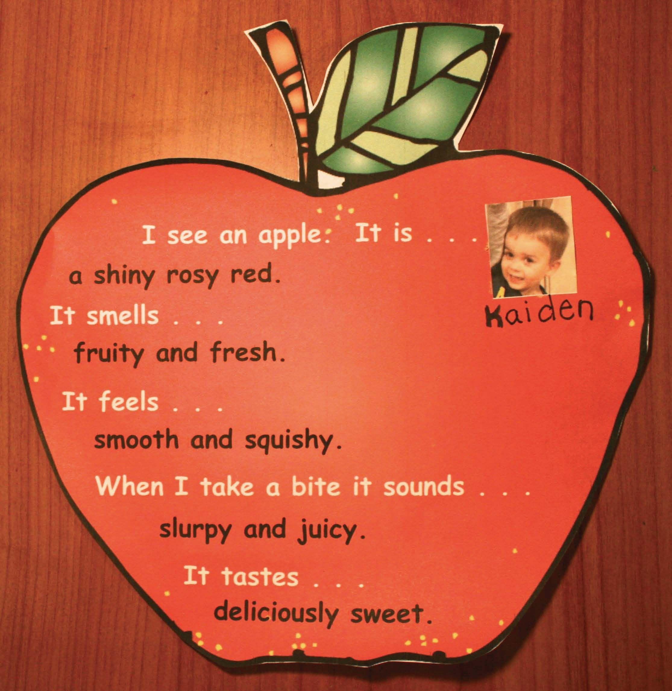 Apples Sense Science Amp Writing Craftivities In