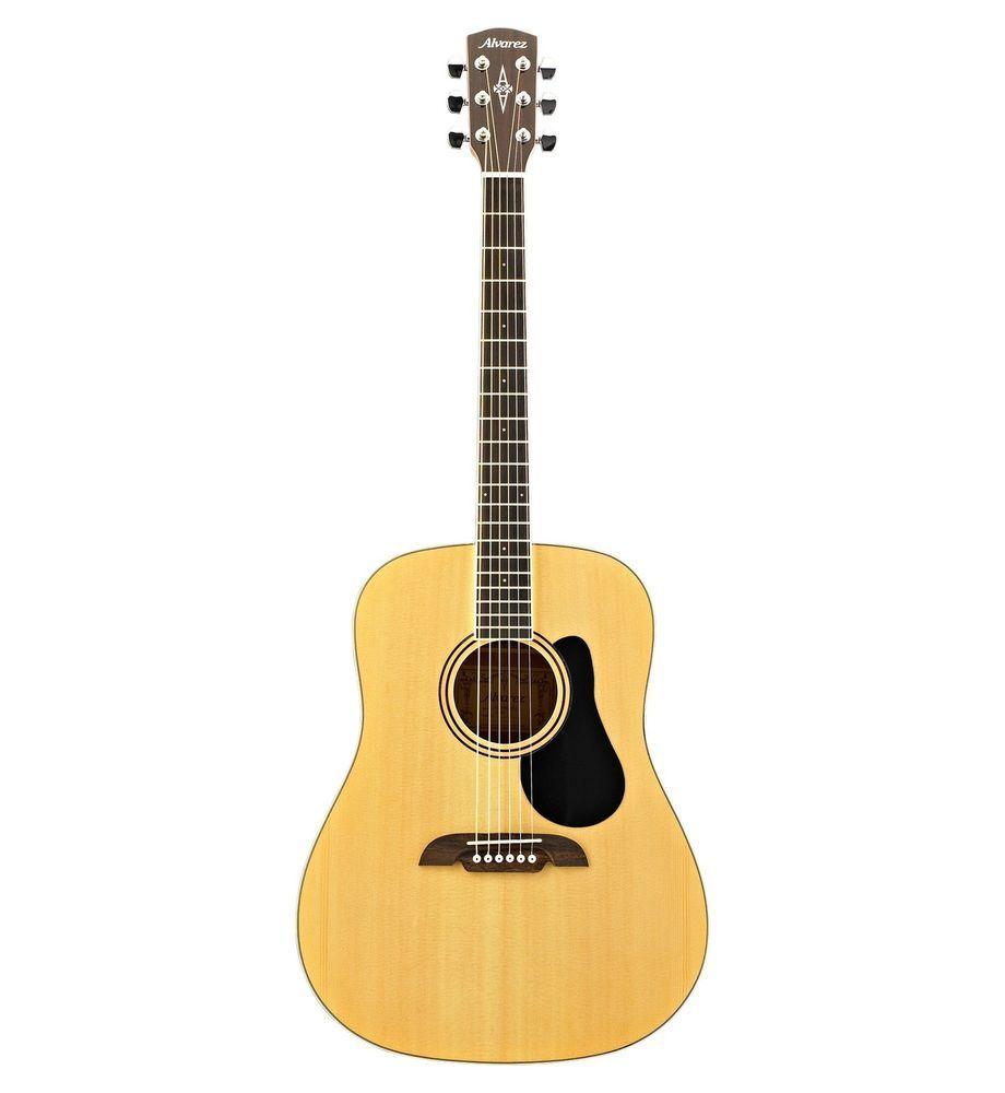 Alvarez Regent Model Rd26 Natural Dreadnought Acoustic Guitar W Gig Bag Bundle 1 Alvarez Acoustic Guitar Guitar Acoustic Acoustic Guitar