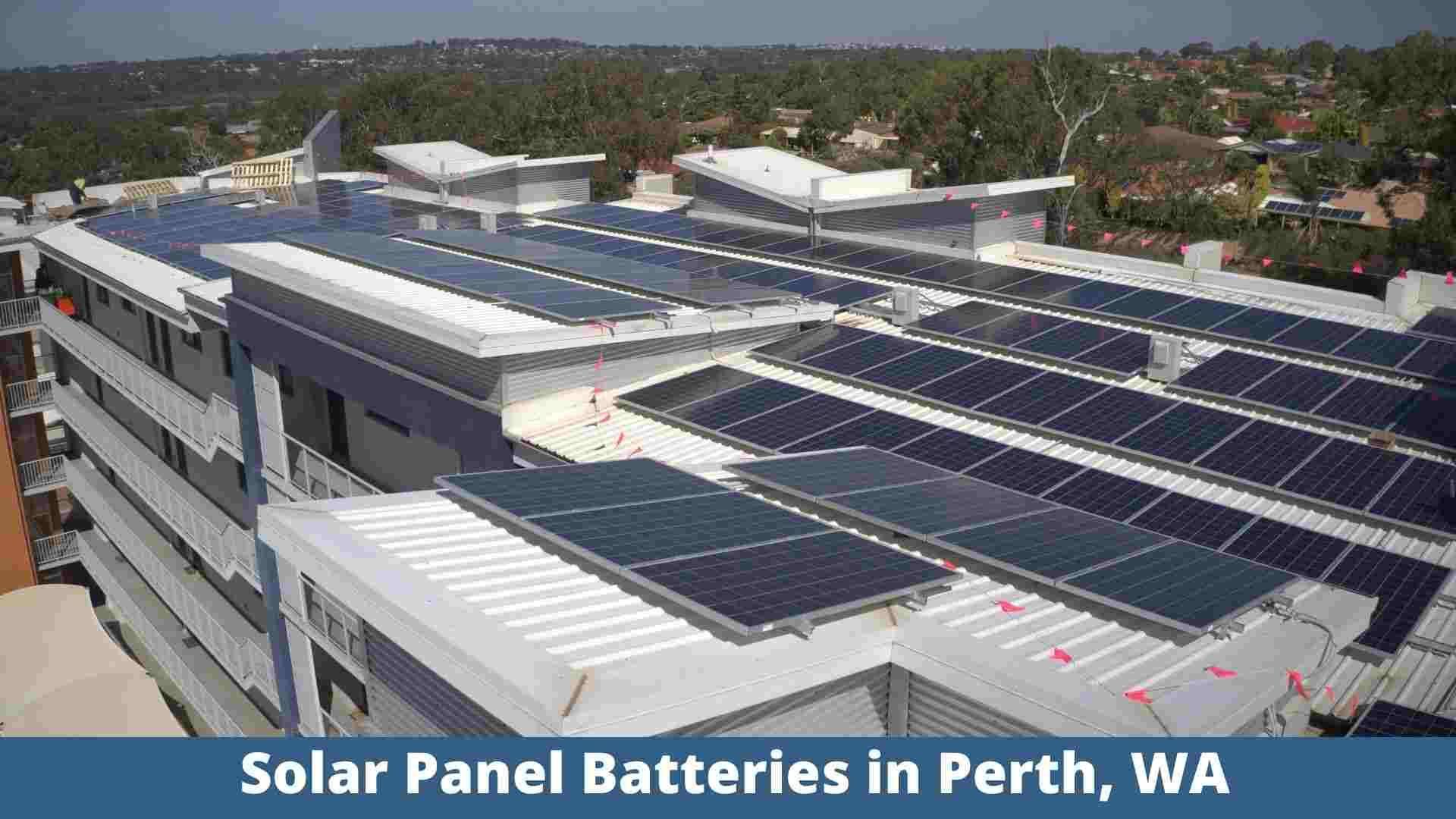 Solar Panel Batteries In Perth Wa Residential Solar Solar Panels Solar Pv Systems