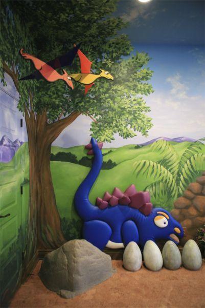 Habitacion dinosaurios 3 robot pinterest - Decoracion infantil habitacion ...