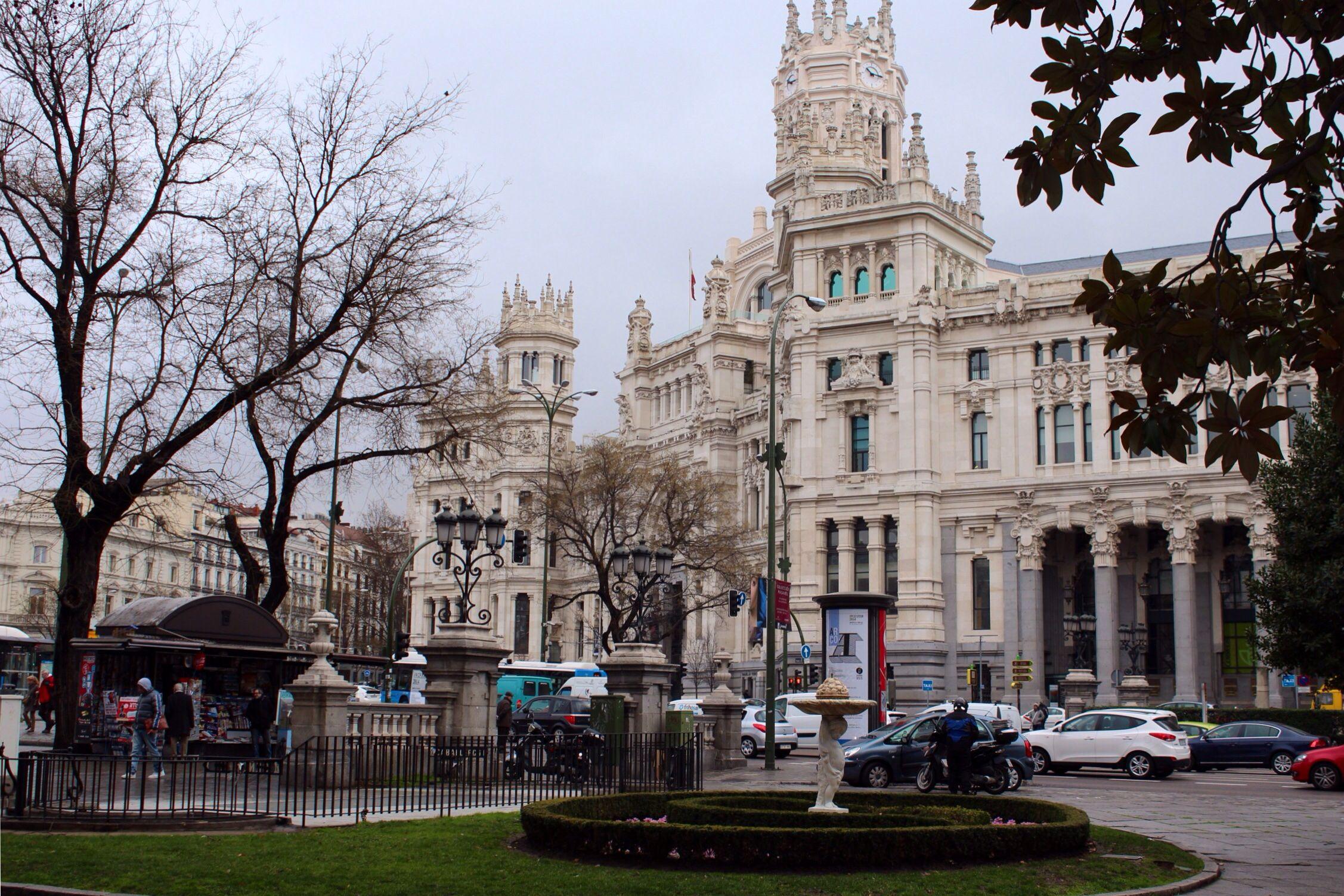 En Madrid esta semana (12/02/2014), uno de los edificios más emblemáticos de la capital española