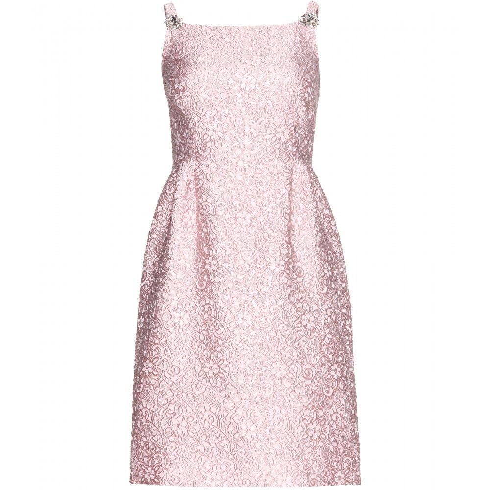 Dolce u gabbana crystalembellished brocade dress dσℓcε u gαbbαηα