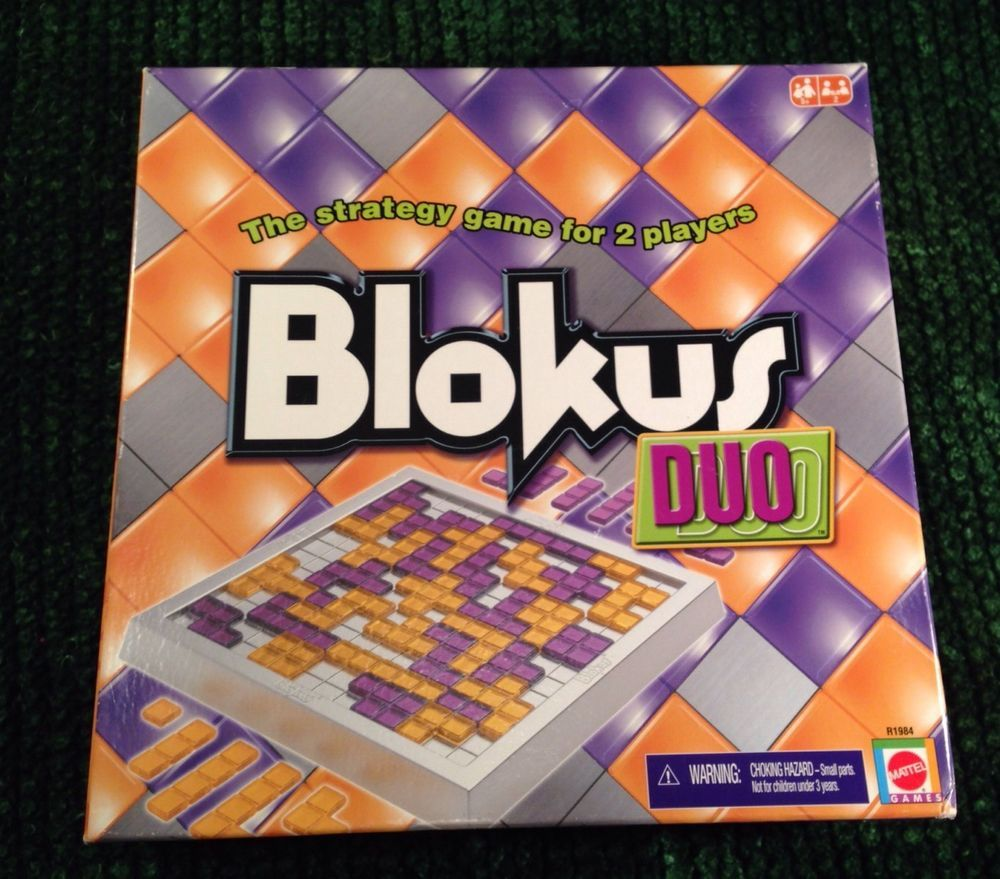 BLOKUS DUO STRATEGY BOARD GAME for 2 Players FREE SHIPPING