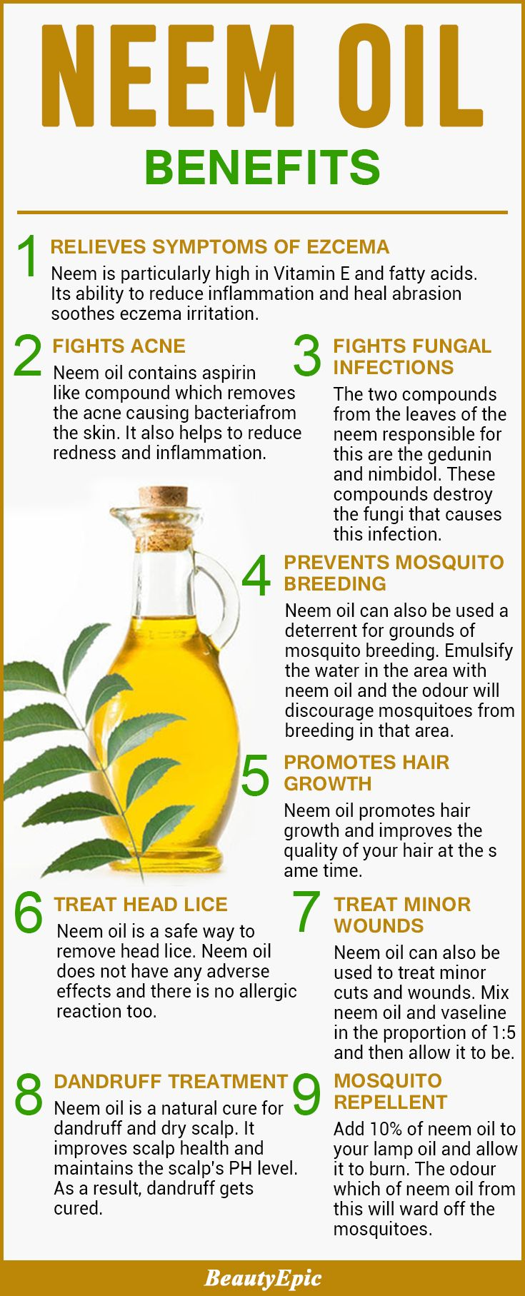 Top 50 Mind Blowing Neem Oil Benefits and Uses Why You