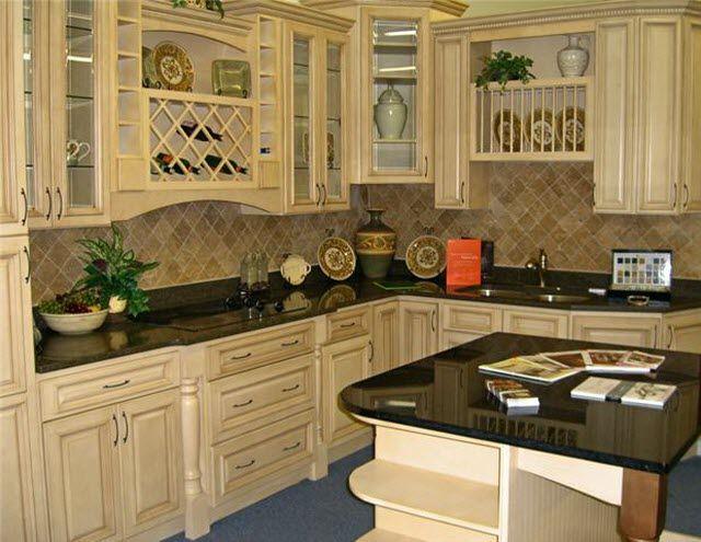 Antique White Cabinets Black Appliances antique white [elite] - rta cabinets kitchen cabinets | kitchen