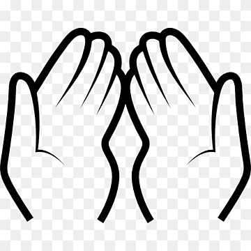 Pray Icon 363395 Free Icons Library Praying Hands Simple Icon Namaste Art
