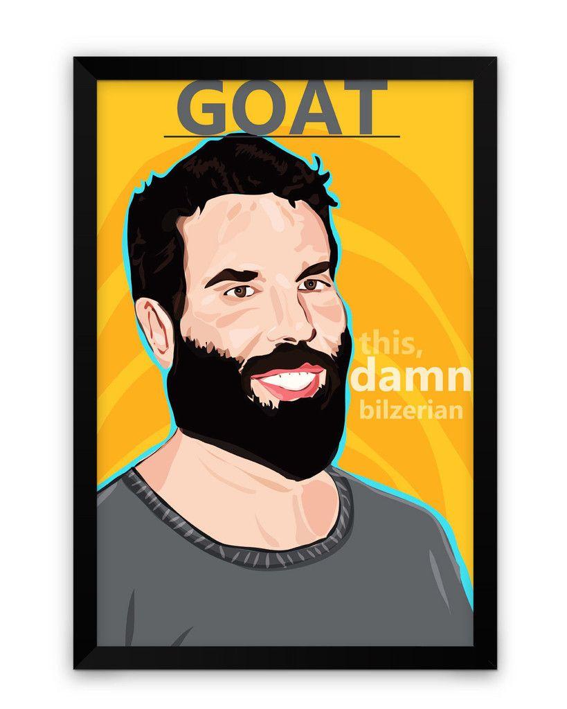 This Damn Dan Bilzerian Fan Art Framed Poster   Dan bilzerian