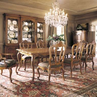 Shop For Century Furniture Costellane Dining Table And Other Room Tables At Lenoir Empire In Johnson City TN