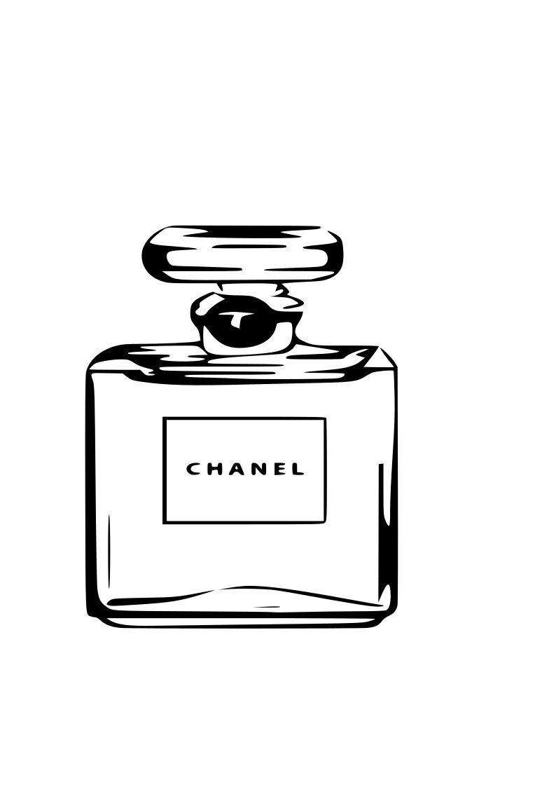 Perfume Fashion Svg File Free Photos