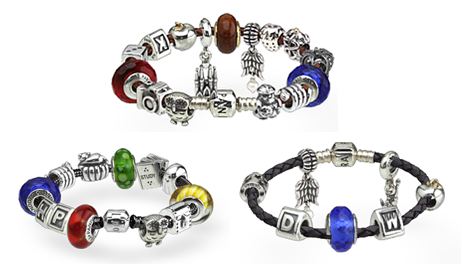 pandora harry potter charm bracelet