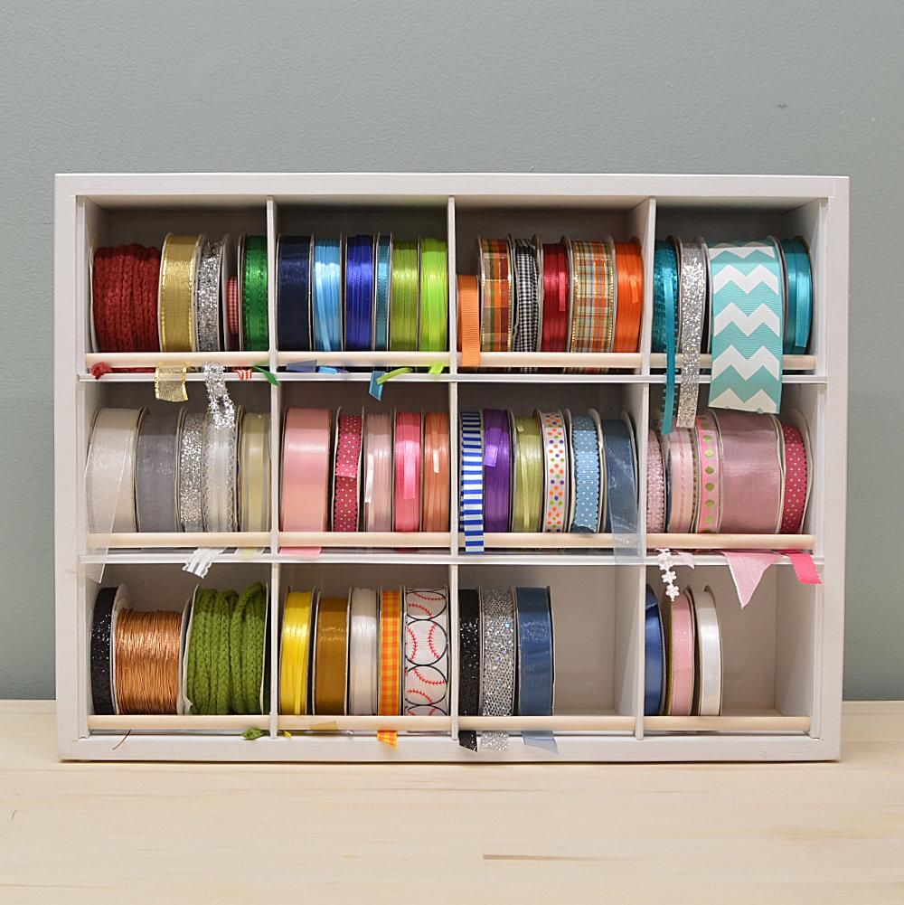 Ribbon Organizer Organizemore Storage And Organization Craft