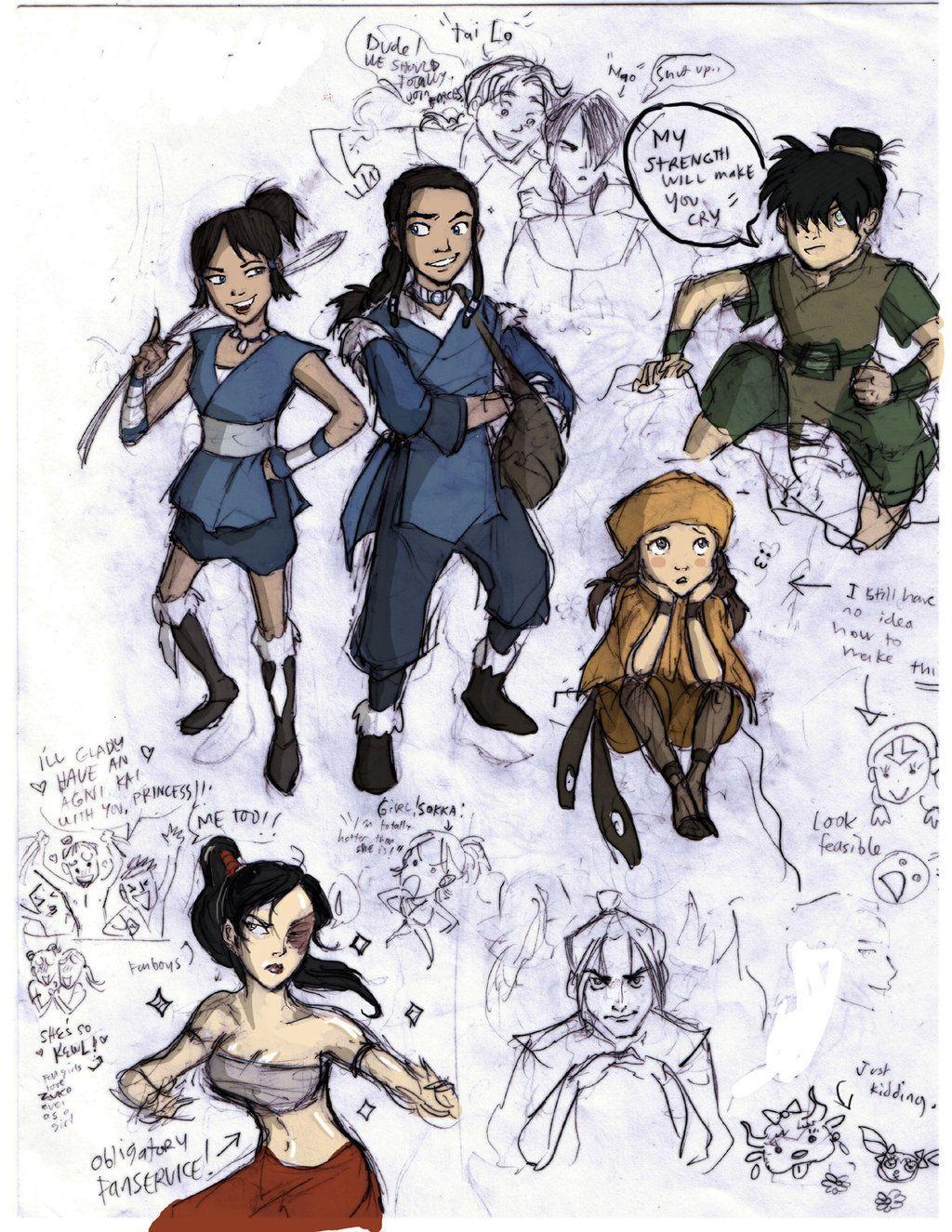A Lenda De Korra Sexo gender bender   avatar, anime e a lenda de aang