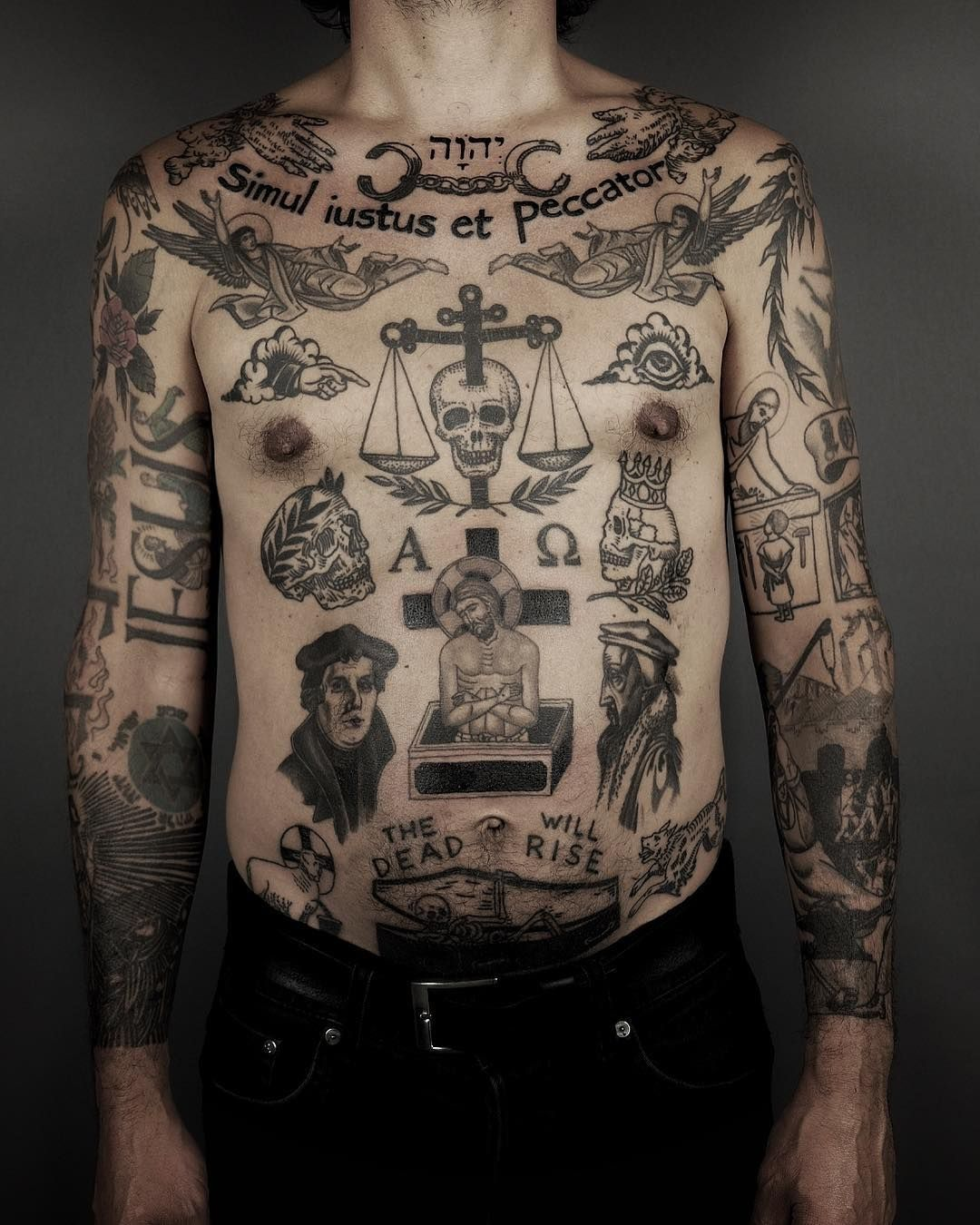 45 Tough Prison Tattoos And Their Meanings 3
