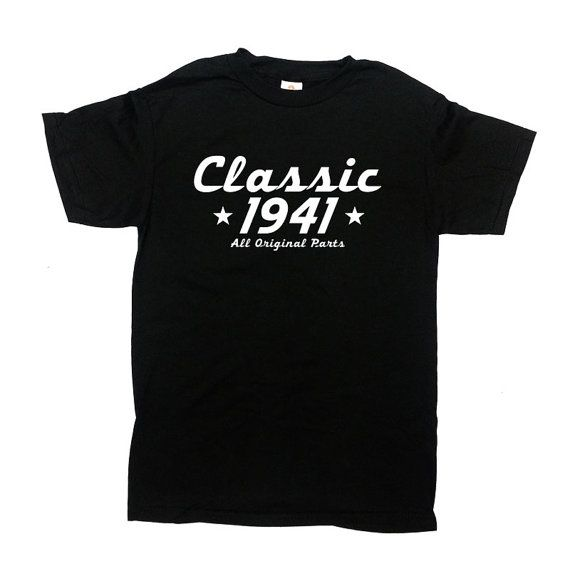 Classic 1941 Any Year All Original Parts Shirt