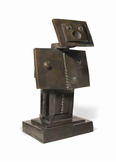 Max Ernst, An Anxious Friend (Un ami empressé)