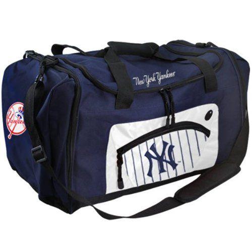 af1b417fb7 New York Yankees Duffle Gym Bag Team Colors 20