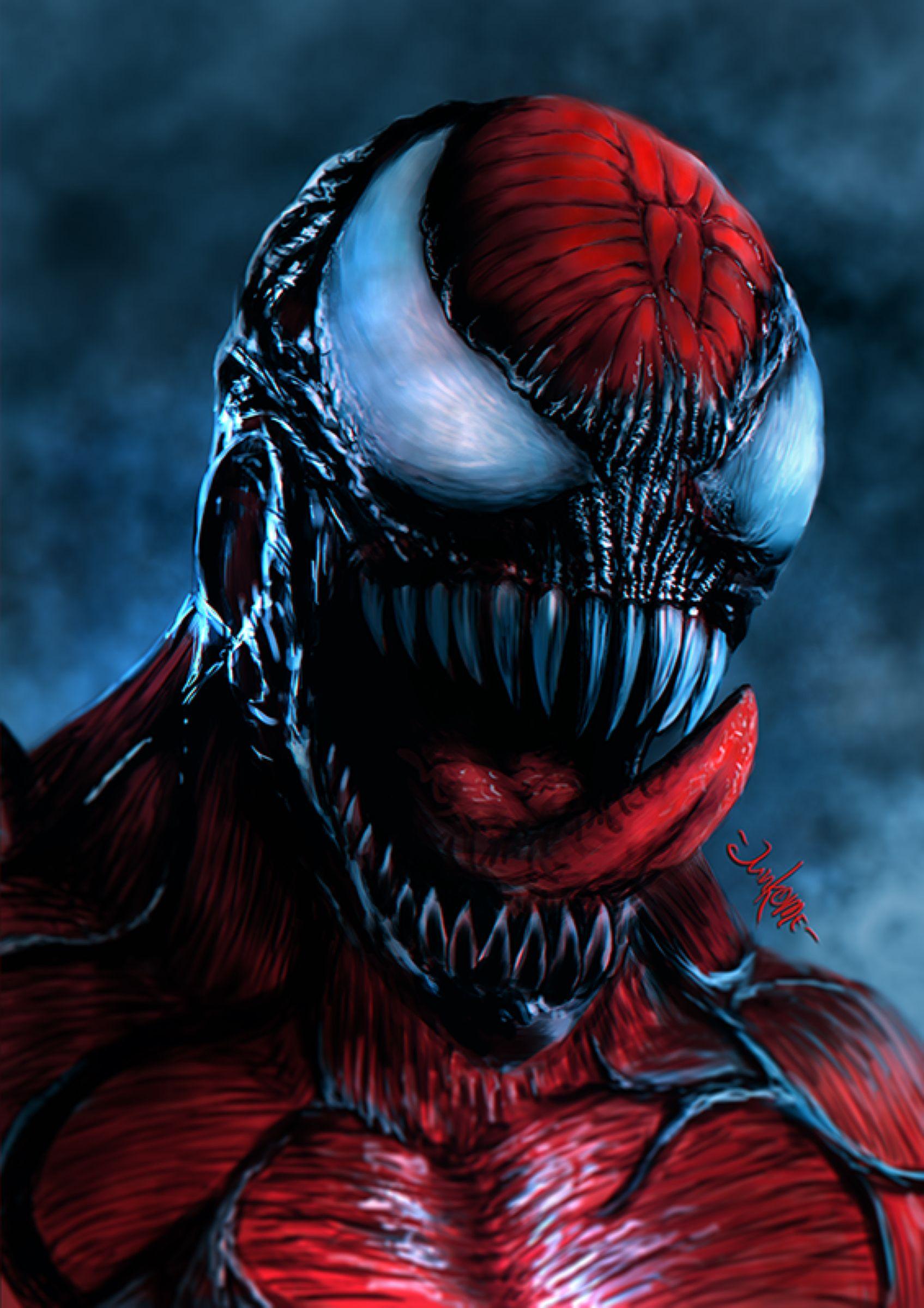 Carnage By Junkome On Deviantart Carnage Marvel Venom Comics Marvel Art Carnage