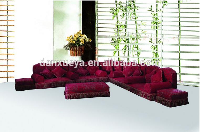 Danxueya Arab Sofa Majlis Arabic Majlis Furniture Arab Style Sofa Living Room Corner Big Corner Sofa Fabric Sofa
