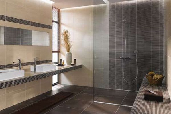 bad-fliesen.jpg 600×400 pixel | bad | pinterest | small bathroom - Moderne Badfliesen