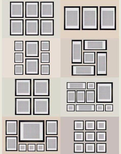 Фотографии на стене. Оформление комнаты | Каркасная стена ...