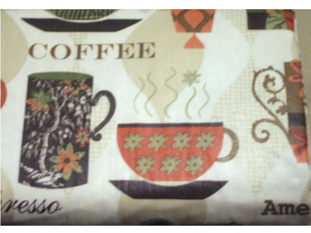 Add A Fun Tablecloth To Your Coffee Themed Kitchen With Colorful Cups Of  Coffee And Words Like Cappuccino, Espresso And Latte. $15.95