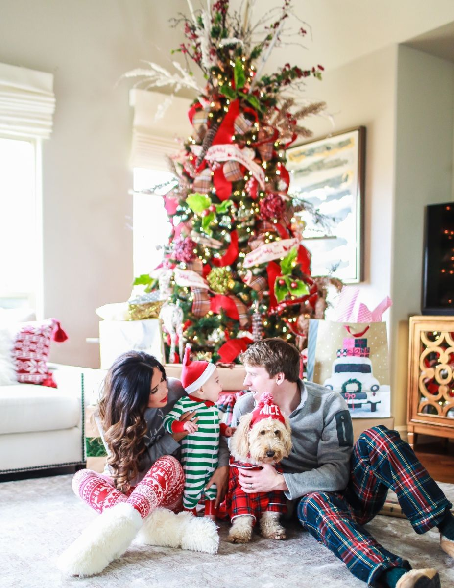 Christmas Pajamas Photoshoot.Holiday Pajamas For The Whole Family Online Shopping