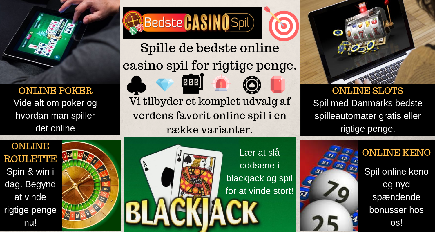 Laer at spille casino