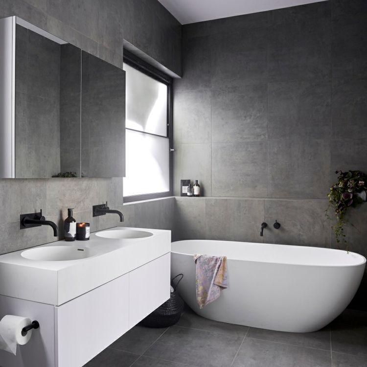 Badezimmer Armaturen In Schwarz Stilvolle Und Moderne Badausstattung Schwarzes Badezimmer Schwarze Badezimmer Armaturen Badezimmer Schwarz