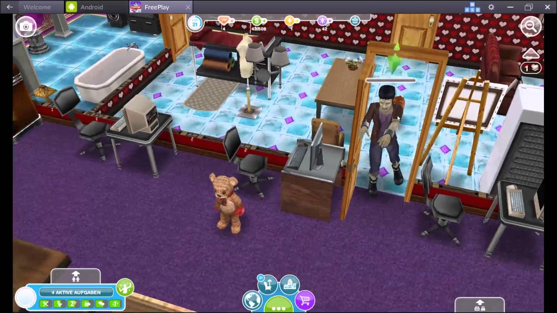 The Styles Of Timedie Stile Der Zeit Lets Play Sims Freeplay 60