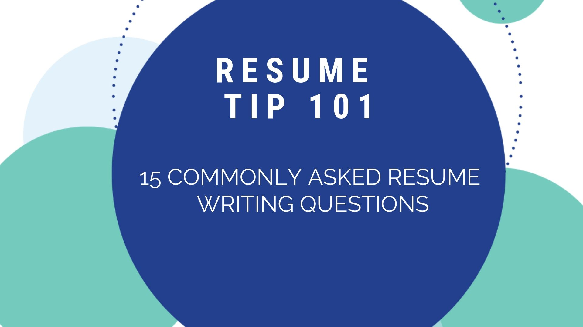 As a professional resume writer i am often asked the most