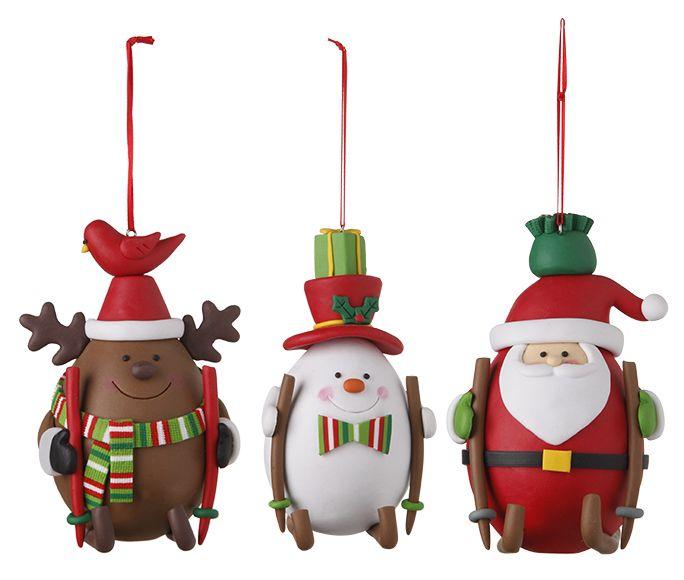 Figuras De Plastilina Ref 16989553 Leroy Merlin Arcilla De Navidad Manualidades Navideñas Navidad