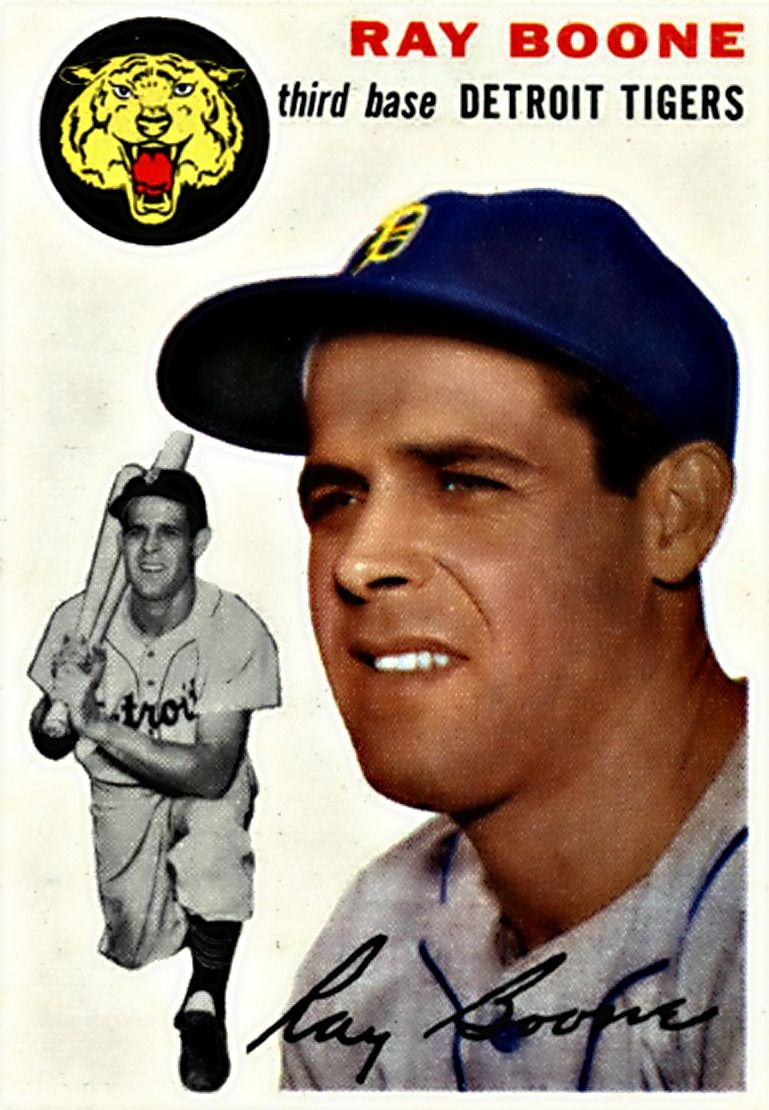 77 ray boone detroit tigers baseball american