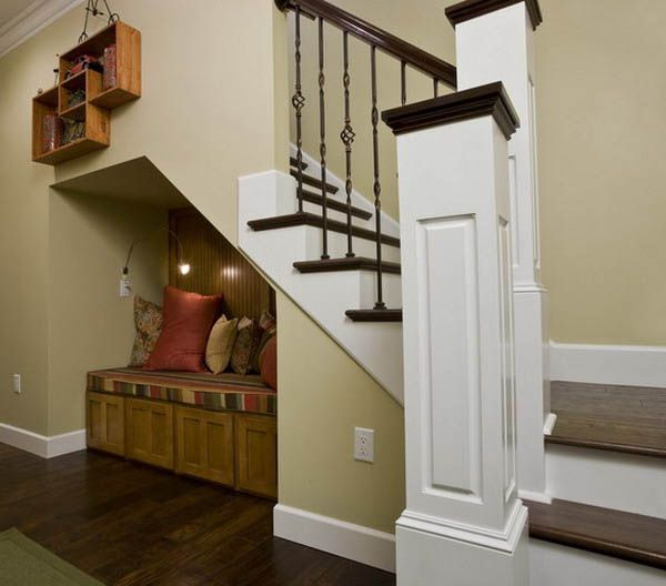 16 Interior Design Ideas And Creative Ways To Maximize Small Spaces Under Staircases Staircase Interior Design Small Space Staircase Small Space Interior Design