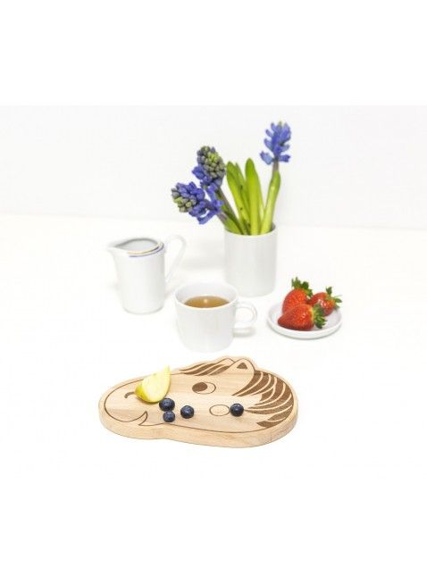 Julica Design julica design tipikids frühstücksbrettchen pferd | baby's meal