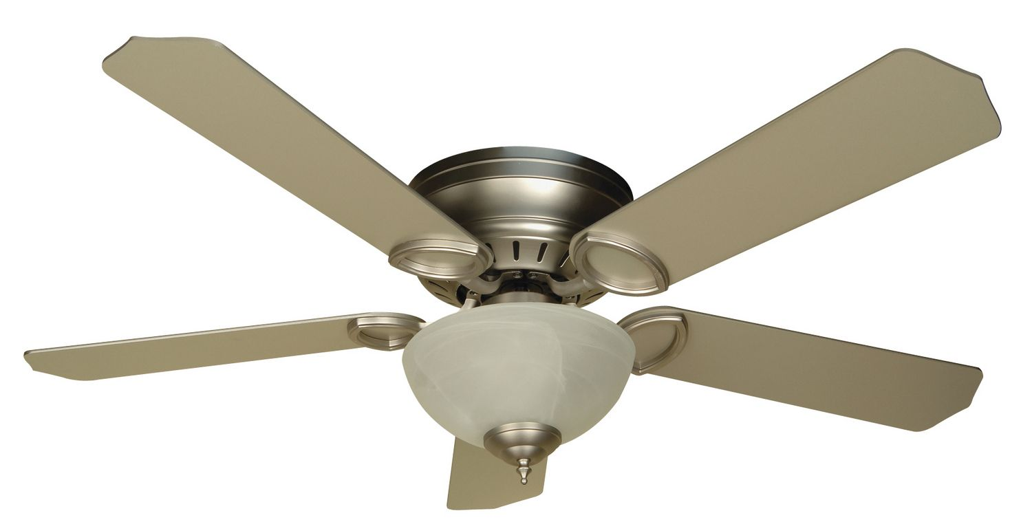 Brushed Nickel Fan from Craftmade