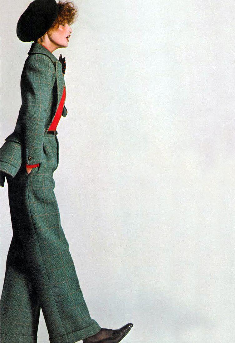 Nina Ricci by Peter Knapp Vogue UK 1971