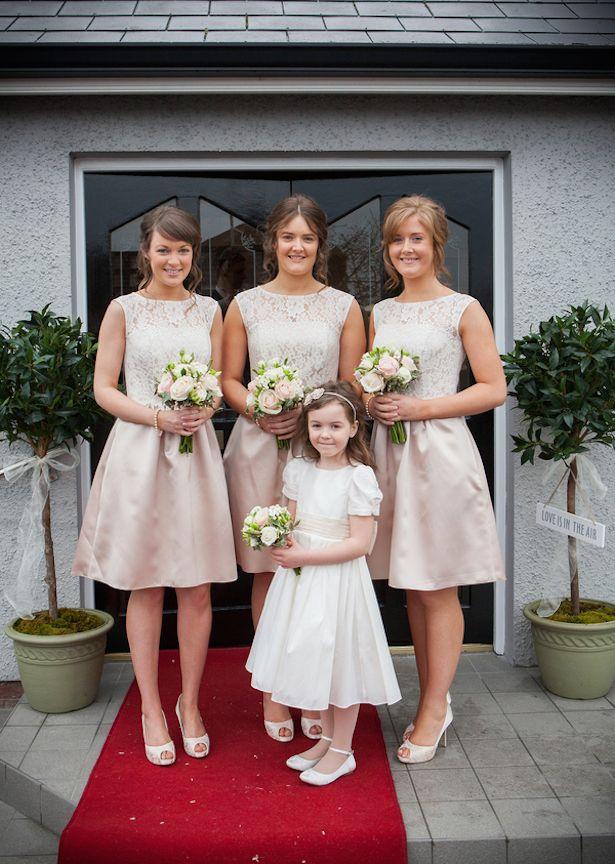 Neutral Bridesmaid Dresses - Belle The Magazine