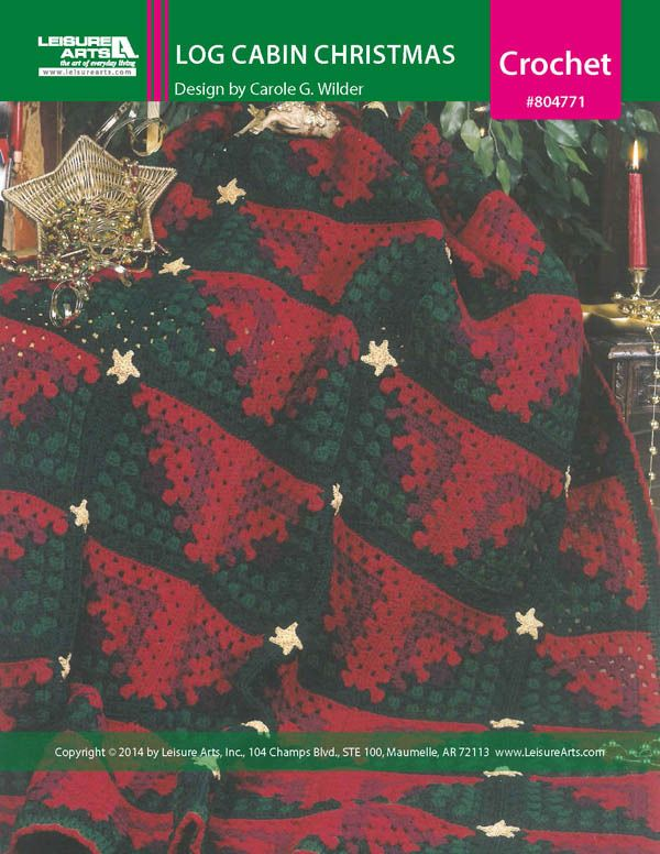Holiday Crochet Pattern: Christmas Afghan Patterns – Crocheted ...