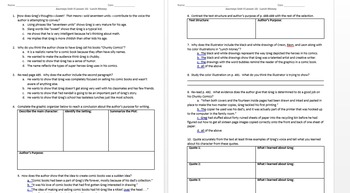 Journeys 5th Grade Unit 4 Reading Comprehension Skills Worksheet Vocabulary Reading Comprehension Skills Comprehension Skill Reading Comprehension
