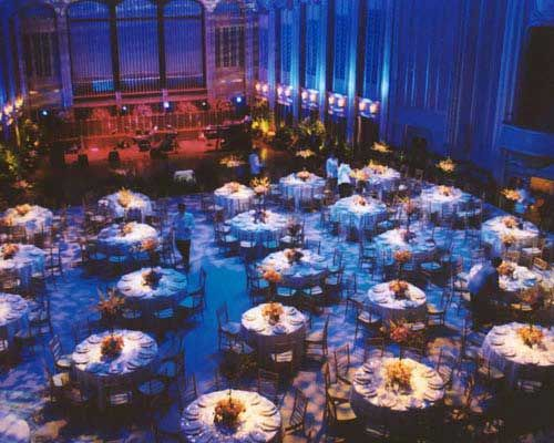 Lighting A Wedding On A Stage At Severance Hall Cleveland