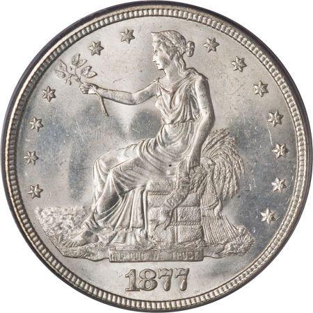 1877 Trade Dollar Silver Coin Value Facts Silver Coins Gold And Silver Coins Coin Values