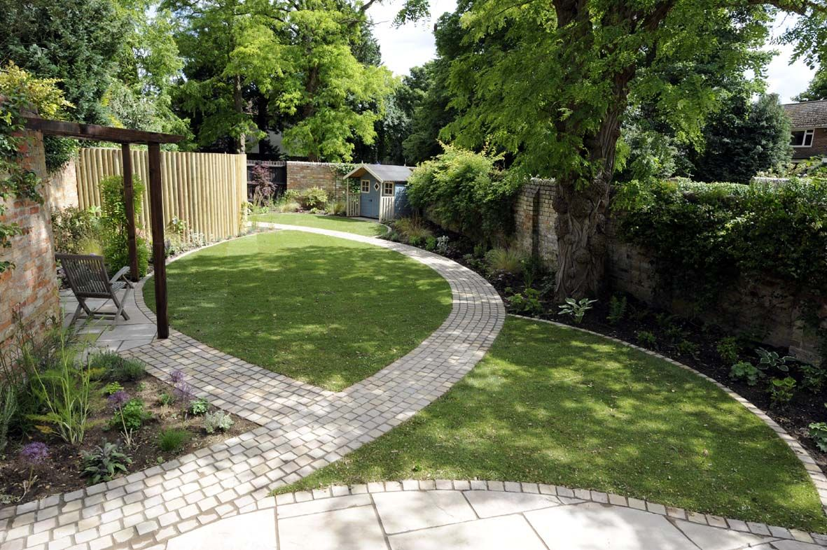 modern styles in garden design